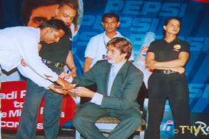 24 Secure, formaly known as Vision Security provided the Detail with Women Security Officers, for Actor Amitabh Bachchan, 2006